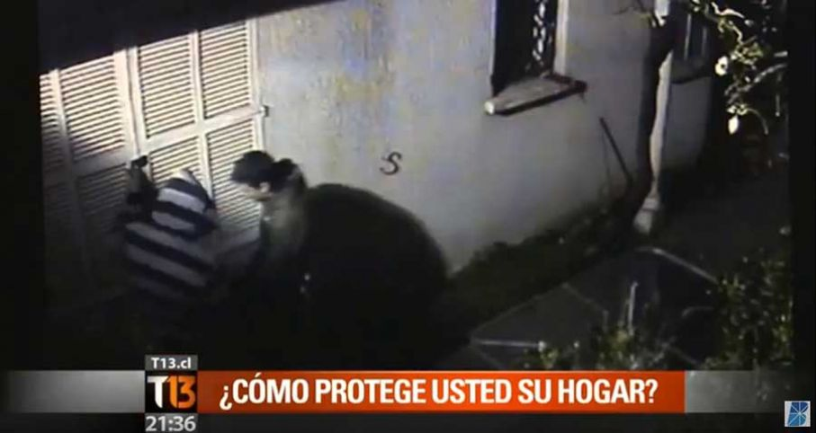 Video Blinser seguridad para el hogar - En Noticiero Central T13